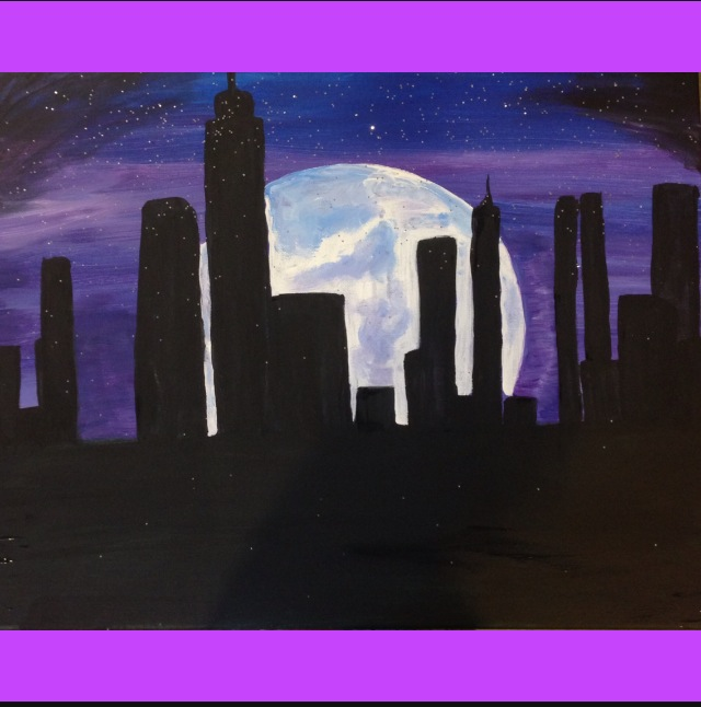 PAINT WITH ME! Tuesday 3/31, 8-10 PM at The Doghouse